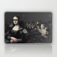 Mona Lisa SMILE Laptop & iPad Skin