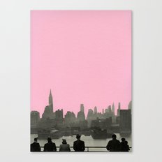 New York Nights Canvas Print