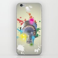 Sydney Tower Abstract iPhone & iPod Skin