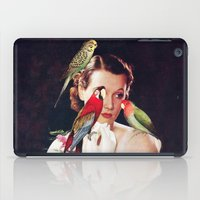Bird Lady iPad Case