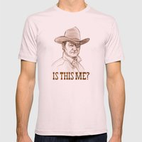 Is This Me? Mens Fitted Tee Light Pink SMALL