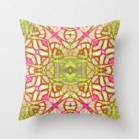 Ethnic Tribal Pattern G3… Throw Pillow