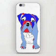 Britishy Bulldog iPhone & iPod Skin