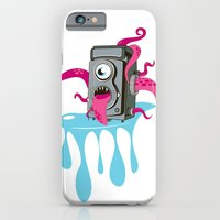 iPhone & iPod Case featuring Monster Camera by Hazeart