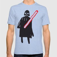 you are drawing vader Mens Fitted Tee Tri-Blue SMALL