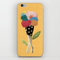 all flowers in time bend towards the sun iPhone & iPod Skin