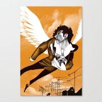 James Icarus Canvas Print