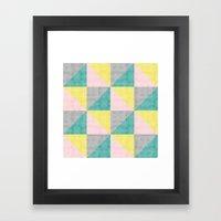 Rinkydink Pink Framed Art Print