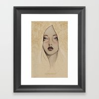 Another practice drawing Framed Art Print