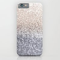 iPhone Cases featuring SILVER by Monika Strigel