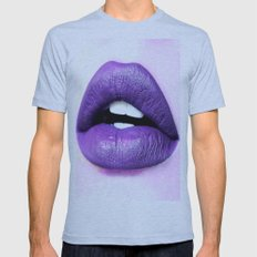 Lips Mens Fitted Tee Athletic Blue SMALL