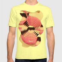 DIVIDUS  Mens Fitted Tee Lemon SMALL