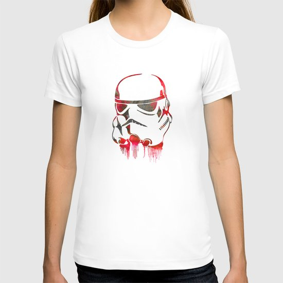 Storm Trooper Print T-shirt