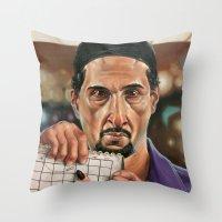 Jesus Quintana. Throw Pillow