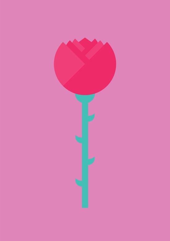 #88 Rose Art Print