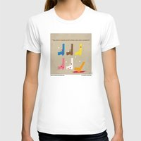 No069 My Reservoir Dogs … Womens Fitted Tee White SMALL