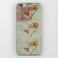 Broken Hearts iPhone & iPod Skin