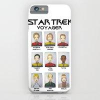 STAR TREK VOYAGER  iPhone 6 Slim Case