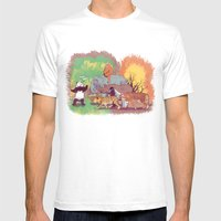 Save Us Mens Fitted Tee White SMALL