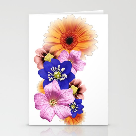 Flower Power. Stationery Card