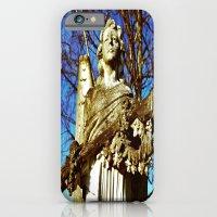 Cemetery angel iPhone 6 Slim Case