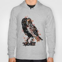Owl with ink Hoody