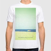 Fleeting Days Of Summer Mens Fitted Tee Ash Grey SMALL