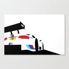 M3 DTM Canvas Print