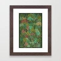April Leaves Framed Art Print