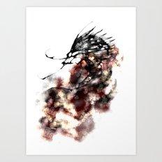 cool sketch 167 Art Print
