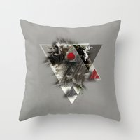 Around you Throw Pillow
