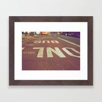 Urbanscape Framed Art Print