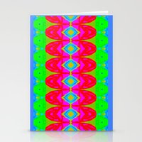 Summer Abstract Pattern I  Stationery Cards