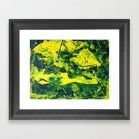 Moss Skin I Framed Art Print