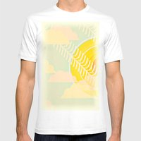 Summer Is Here Mens Fitted Tee White SMALL