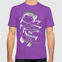 Abdulrahman Mens Fitted Tee Ultraviolet SMALL