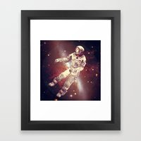 Time & Space Framed Art Print