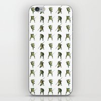 Ninja Turtle Pattern iPhone & iPod Skin