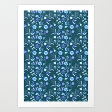 Floral Morning Art Print