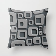 Abstract V-1 Throw Pillow