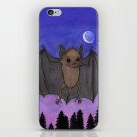 Herman The Little Brown Bat iPhone & iPod Skin