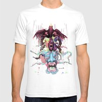 Cuckoo's Nested Fear Mens Fitted Tee White SMALL