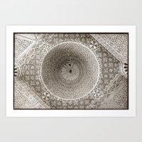 Ceiling Mosaic Art Print