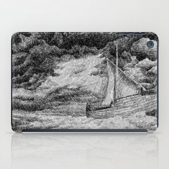 Fingerprint - Sailing iPad Case