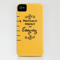 Practically Perfect In E… iPhone (4, 4s) Slim Case