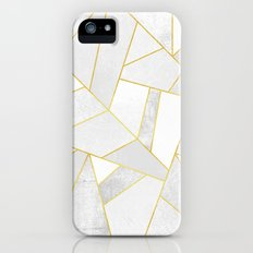 White Stone iPhone (5, 5s) Slim Case