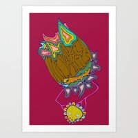 The Sunlight Hurts My Ey… Art Print