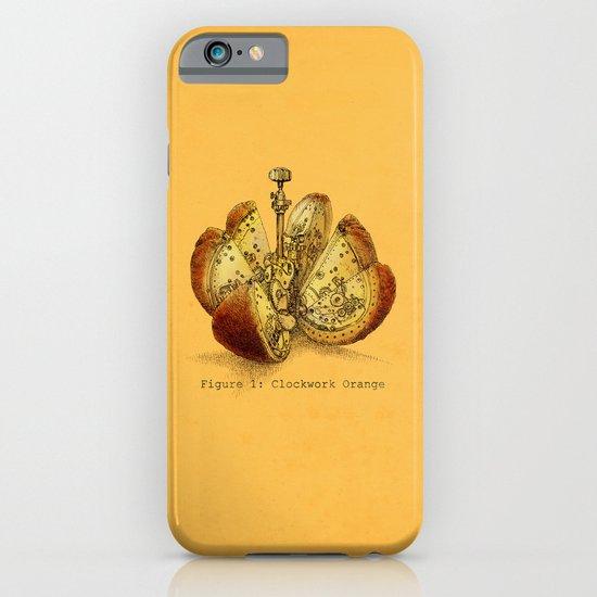 Clockwork Orange  (color option) iPhone & iPod Case