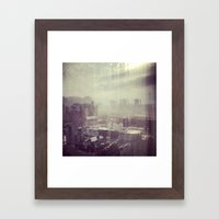 Rain Framed Art Print