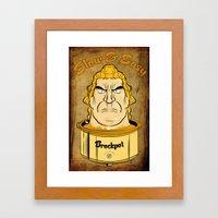 Brockpot Framed Art Print
